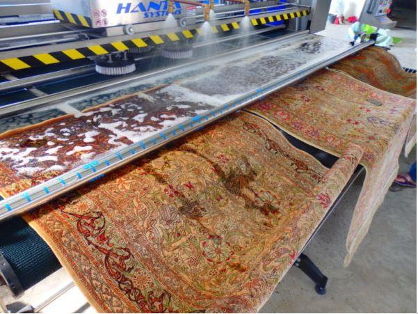 Recogida y limpieza de alfombras en Bilbao